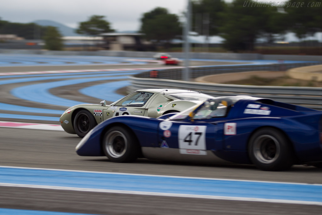 Ford GT40 - Chassis: GT40P/1078 - Driver: Claude Nahum  - 2015 Dix Mille Tours