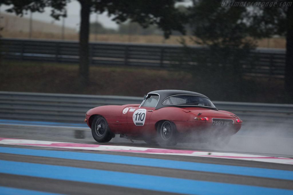 Jaguar E-Type - Chassis: 850148 - Driver: Dennis Singleton  - 2015 Dix Mille Tours