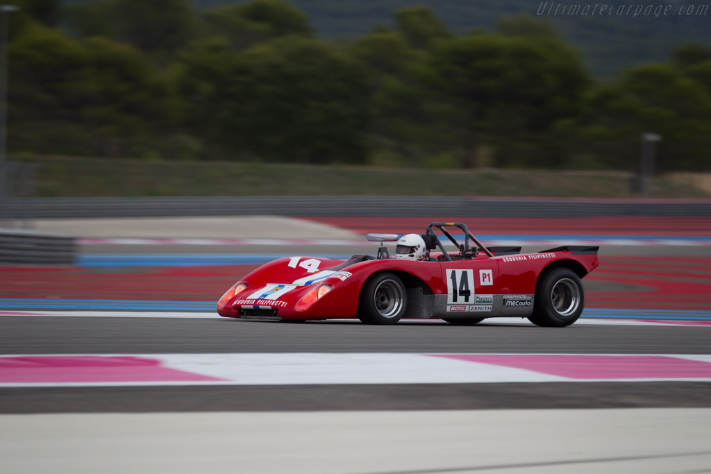 Lola T212 Cosworth - Chassis: HU18 - Driver: Mauro Poponcini  - 2015 Dix Mille Tours