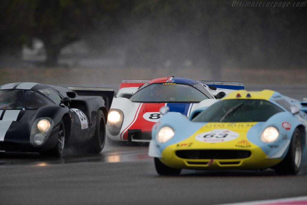 Lola T70 Mk3B Coupe - Chassis: SL76/141 - Driver: Grant Tromans / Richard Meaden  - 2015 Dix Mille Tours