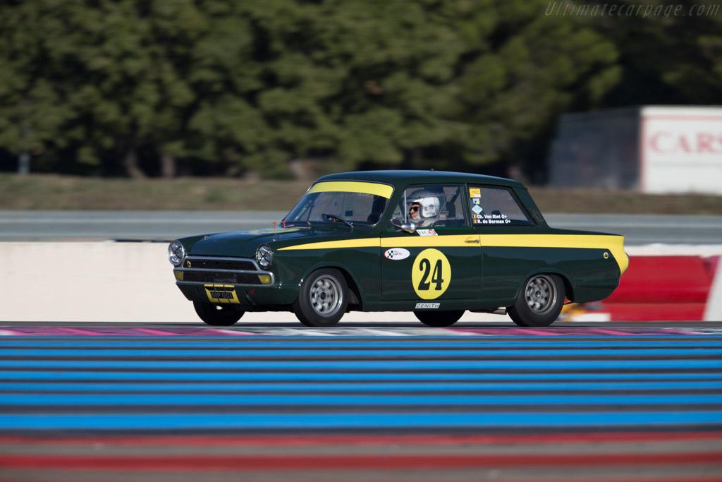 Lotus Cortina - Chassis: BA77EK96773 - Driver: Christophe van Riet / Raphaël de Borman  - 2015 Dix Mille Tours