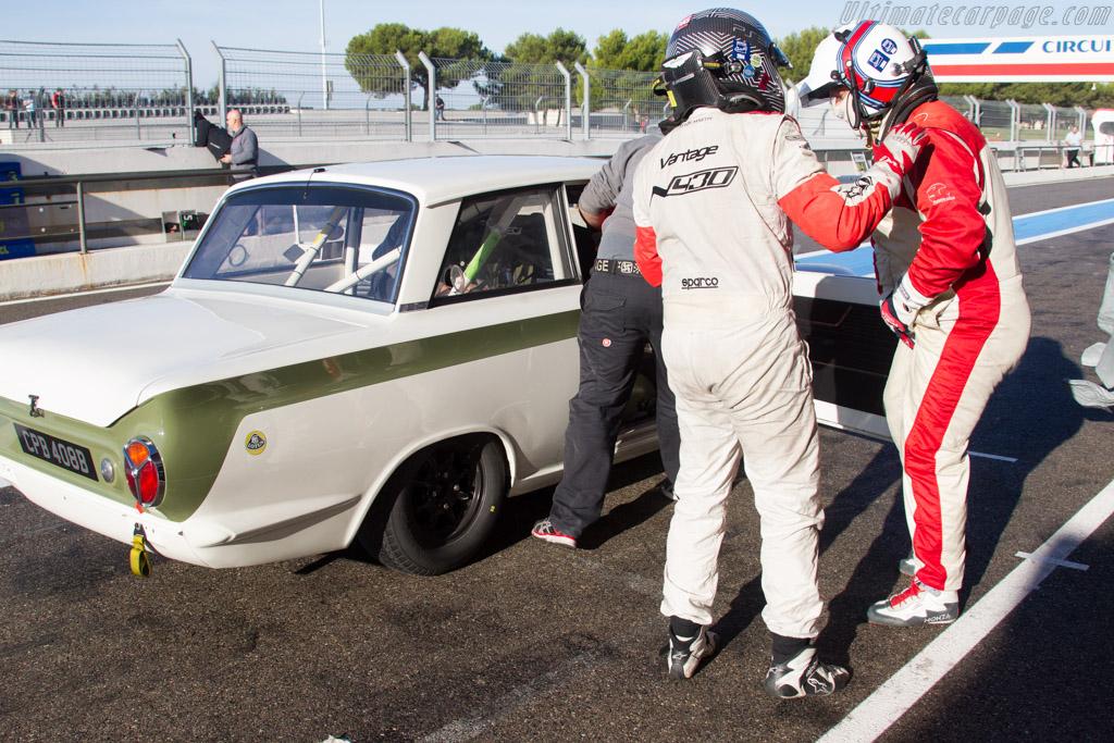 Lotus Cortina  - Driver: Grant Tromans / Richard Meaden  - 2015 Dix Mille Tours