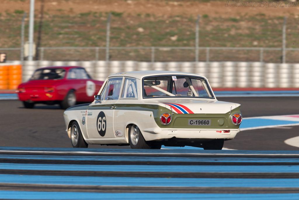 Lotus Cortina - Chassis: BA74FM59731 - Driver: Martin Strommen  - 2015 Dix Mille Tours