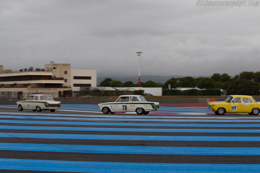 Lotus Cortina  - Driver: Alain Pages  - 2015 Dix Mille Tours