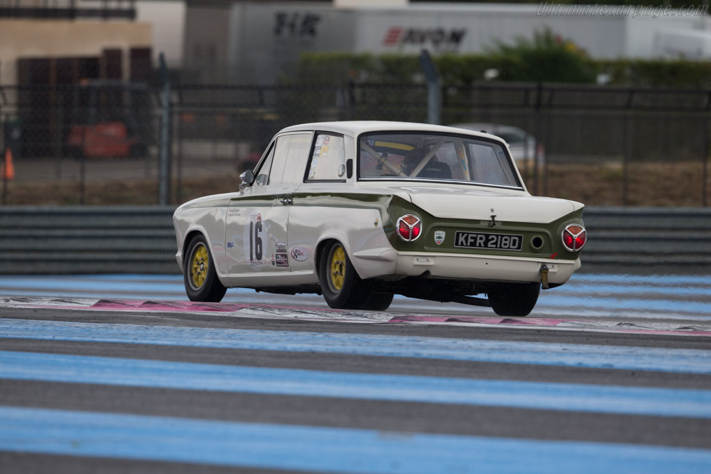 Lotus Cortina  - Driver: David Tomlin / Richard Meaden  - 2015 Dix Mille Tours
