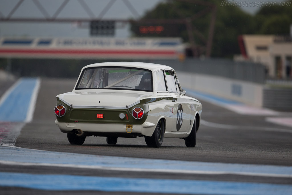 Lotus Cortina - Chassis: BA74EP59133 - Driver: Dion Kremer  - 2015 Dix Mille Tours