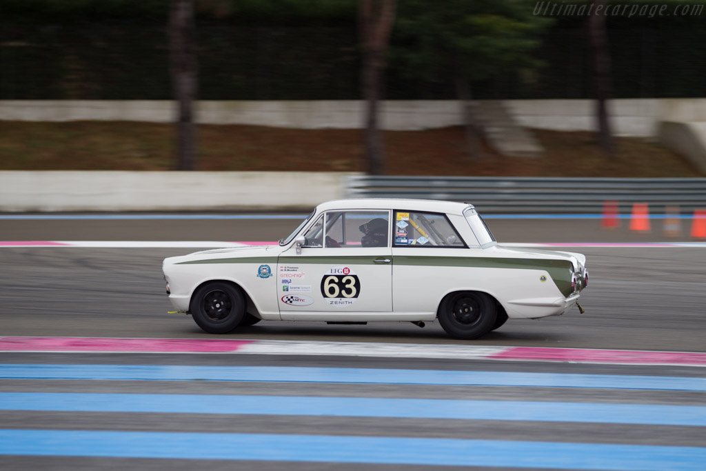 Lotus Cortina  - Driver: Grant Tromans / Richard Meaden  - 2015 Dix Mille Tours