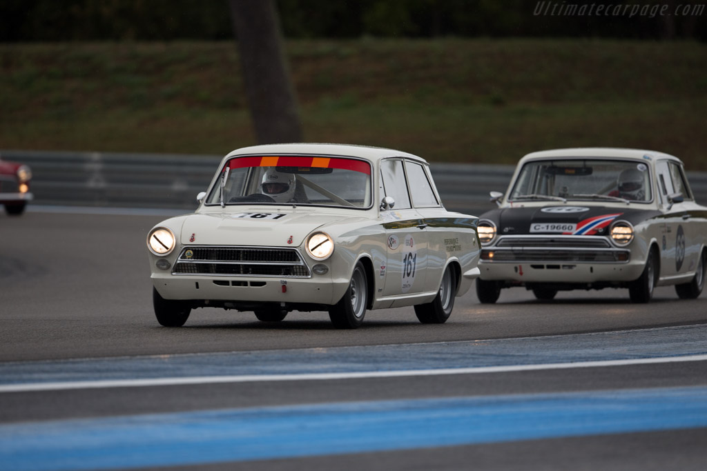 Lotus Cortina - Chassis: Z75C066277M - Driver: Alan Letts / Geoffrey Letts  - 2015 Dix Mille Tours