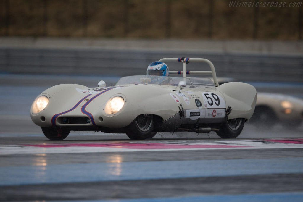 Lotus Eleven - Chassis: 242 - Driver: Franco Meiners  - 2015 Dix Mille Tours