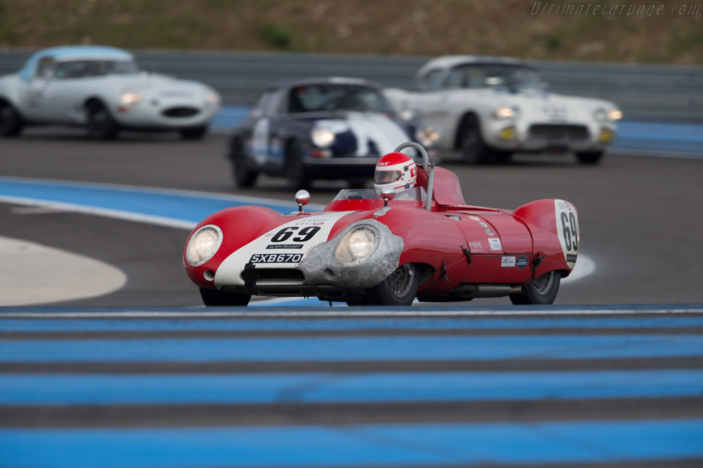 Lotus Eleven Climax - Chassis: 168 - Driver: Serge Kriknoff  - 2015 Dix Mille Tours
