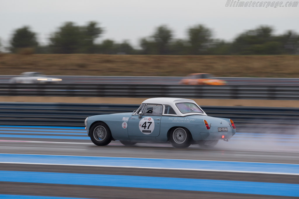 MG B - Chassis: GHN3-71851L - Driver: Eugene Deleplanque / Eric Helary  - 2015 Dix Mille Tours