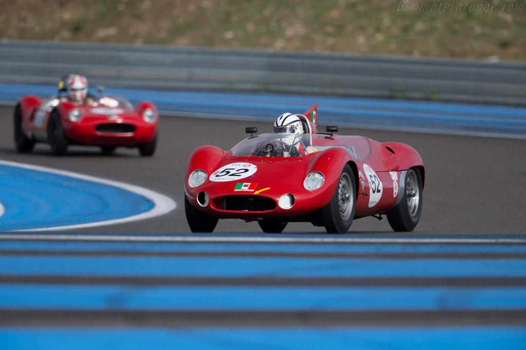 Maserati Tipo 63 Birdcage - Chassis: 63.004 - Driver: Jürgen Boden  - 2015 Dix Mille Tours