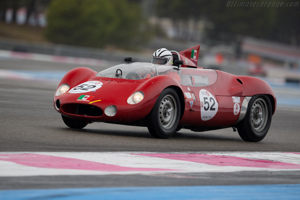 Maserati Tipo 63 Birdcage - Chassis: 63.004 - Driver: Jürgen Boden  - 2015 Dix Mille Tours