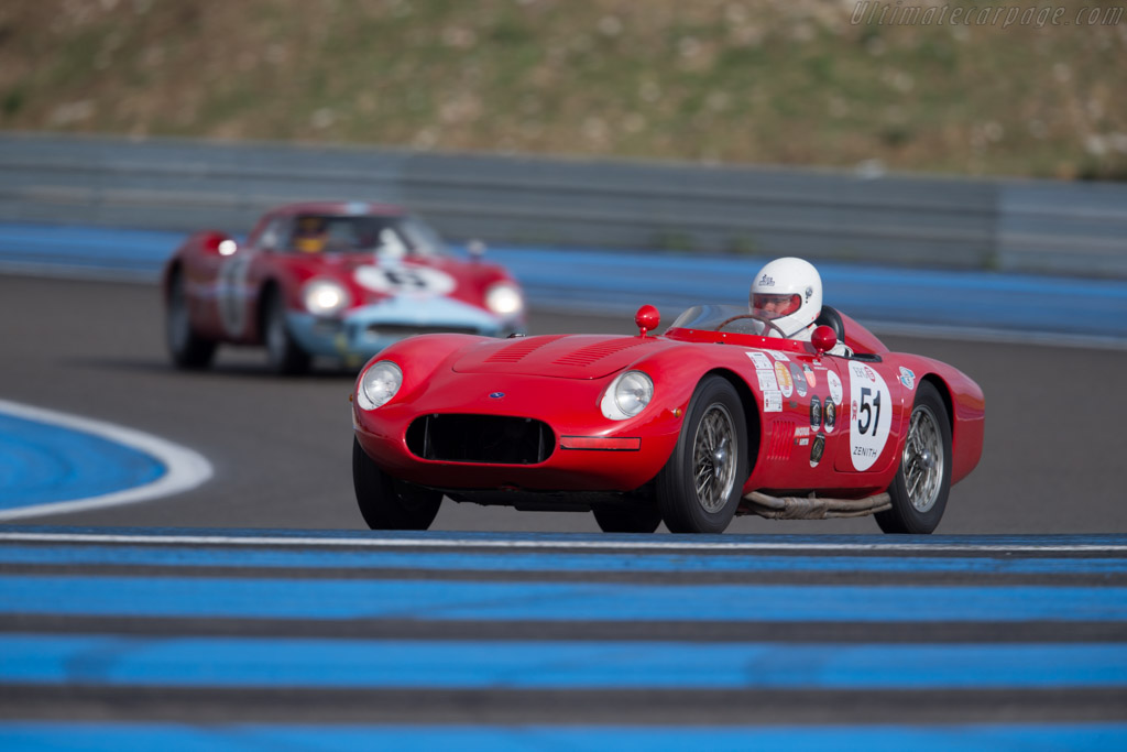 OSCA 1500 TN - Chassis: 1183 - Driver: Antoine Blasco / Gilles Agaud - 2015 Dix Mille Tours