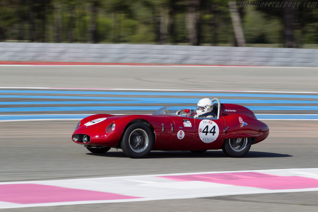 OSCA 2000 S - Chassis: 2006 - Driver: Gaby von Oppenheim  - 2015 Dix Mille Tours