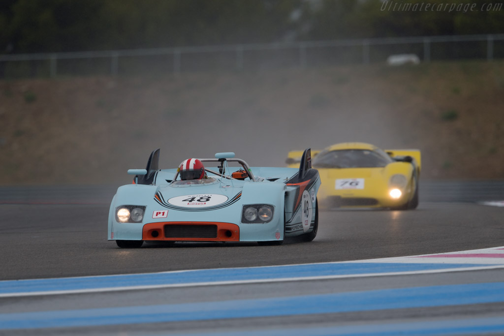 Porsche 908/03 - Chassis: 908/03-001 - Driver: Peter Vogele  - 2015 Dix Mille Tours