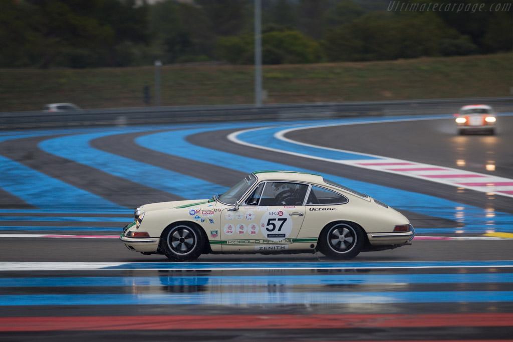 Porsche 911  - Driver: Gaby von Oppenheim  - 2015 Dix Mille Tours