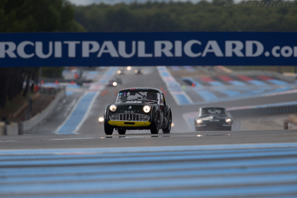 Triumph TR3 - Chassis: TS44221L - Driver: Stephane Guyot-Sionnest / Amaury Latham  - 2015 Dix Mille Tours