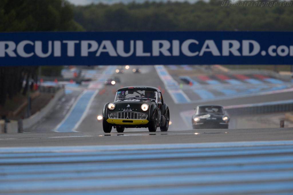 Triumph TR3 - Chassis: TS44221L - Driver: Stephane Guyot-Sionnest / Amaury Latham  - 2015 Dix Mille Tours