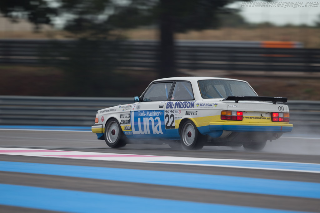 Volvo 240 Turbo Group A - Chassis: 240A 403 - Driver: Andrew Beverley  - 2015 Dix Mille Tours