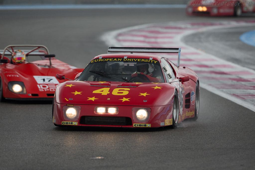 Ferrari 512 BB LM - Chassis: 35525 - Driver: Christian Bouriez  - 2016 Dix Mille Tours