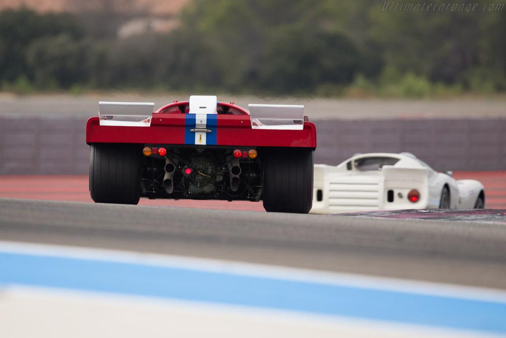 Ferrari 512 M - Chassis: 1024 - Driver: Steven Read / Giovanni Lavaggi  - 2016 Dix Mille Tours