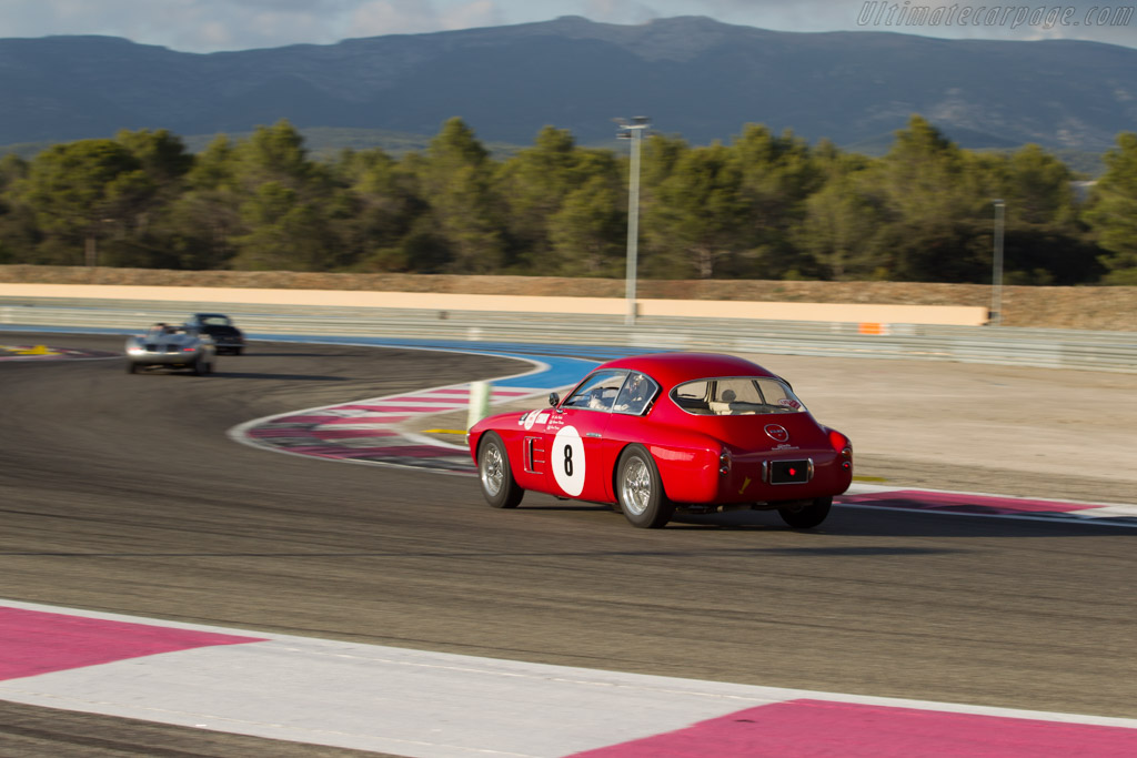 Fiat 8V Zagato Coupe - Chassis: 106*000088 - Driver: Nicolas Traber / Christian Traber  - 2016 Dix Mille Tours