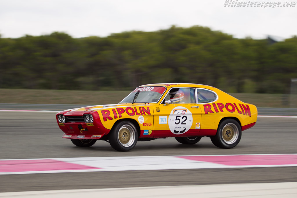 Ford Capri RS 2600 - Chassis: GAECLE42482 - Driver: Yves Scemama  - 2016 Dix Mille Tours