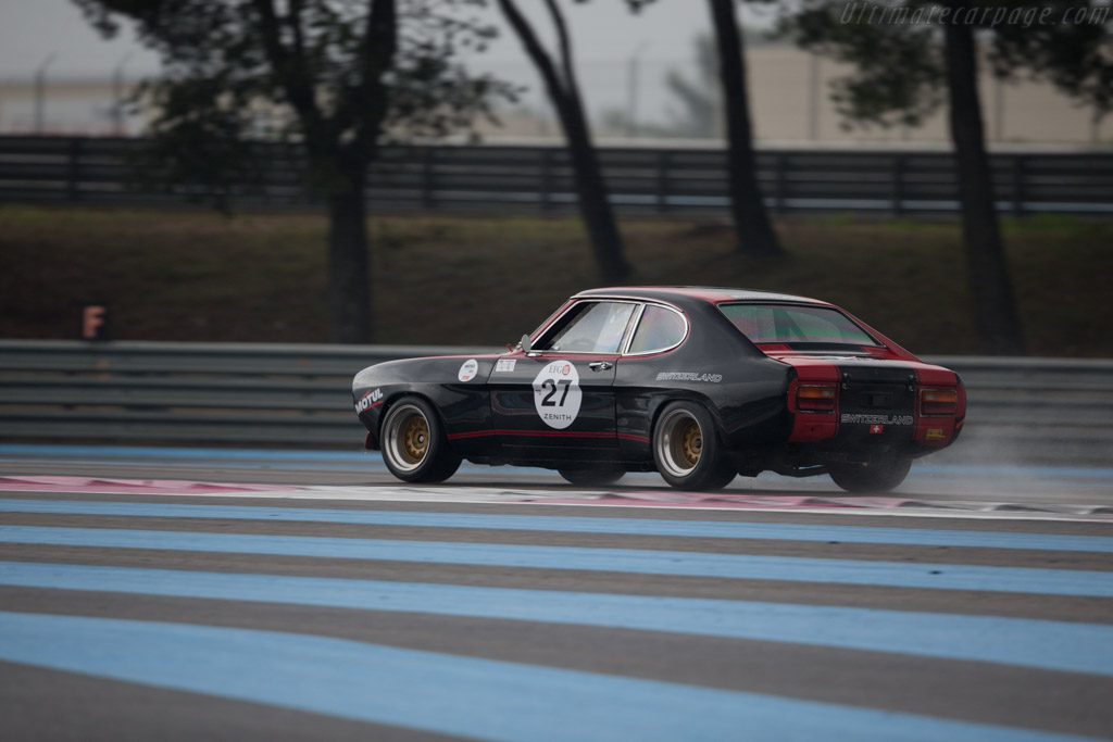 Ford Capri RS 2600 - Chassis: GAECLY91088 - Driver: Dennis Singleton / Kevin Jones  - 2016 Dix Mille Tours