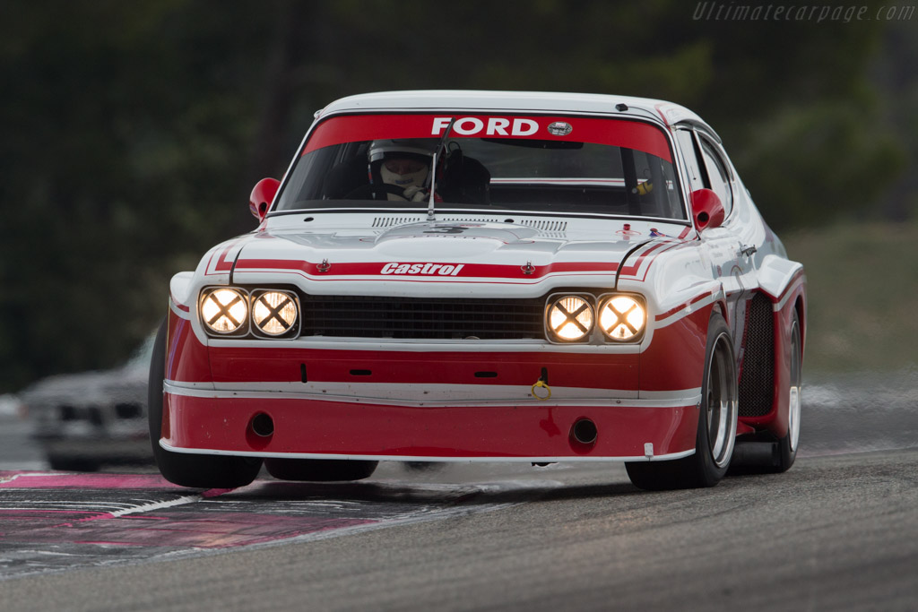 Ford Capri RS Cosworth  - Driver: Grant Tromans / Richard Meaden  - 2016 Dix Mille Tours
