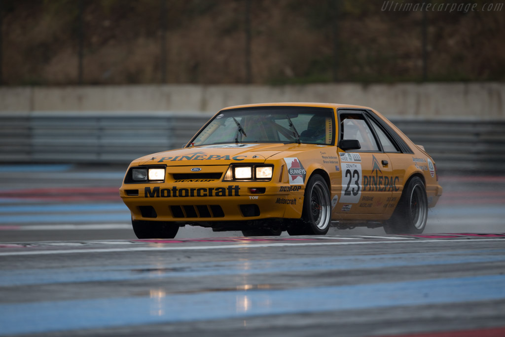 Ford Mustang GT Group A - Chassis: 1FABP23MXEF171869 - Driver: David Huxley / Nigel Greensall  - 2016 Dix Mille Tours