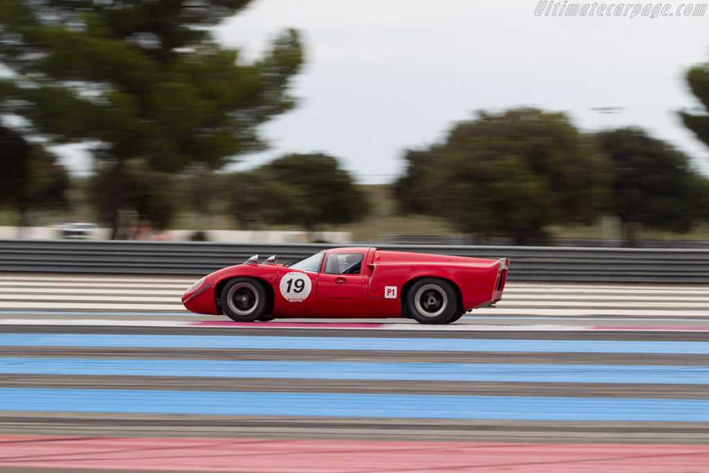 Lola T70 Mk3 Coupe - Chassis: SL73/110 - Driver: Bernard Thuner  - 2016 Dix Mille Tours