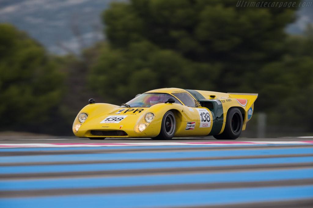 Lola T70 Mk3B Coupe - Chassis: SL76/148 - Driver: Roald Goethe / Stuart Hall  - 2016 Dix Mille Tours