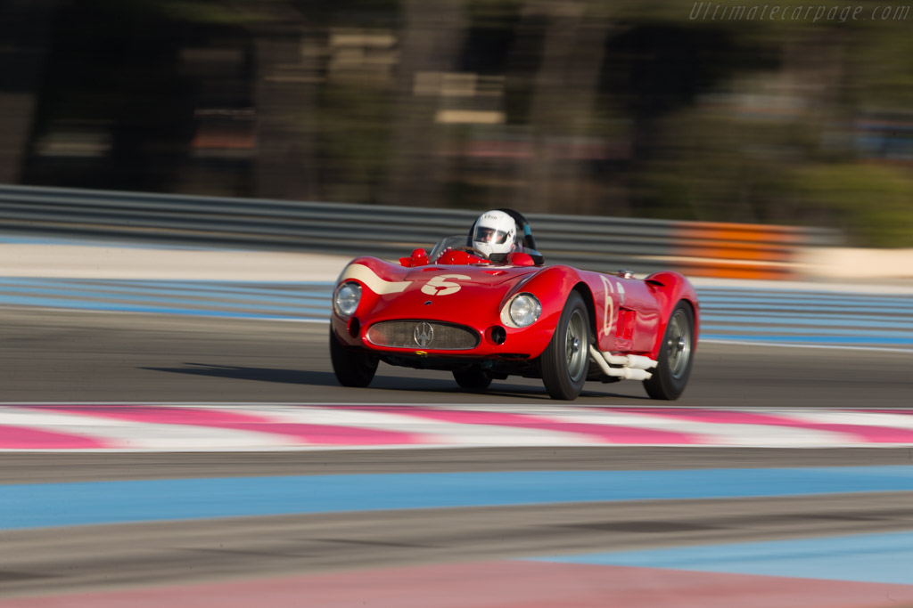 Maserati 300S - Chassis: 3059 - Driver: Carlo Vogele  - 2016 Dix Mille Tours