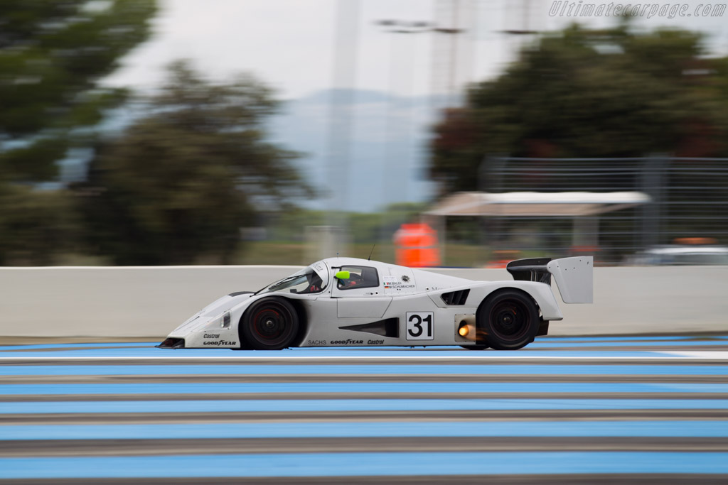 Sauber-Mercedes C11 - Chassis: 89.C11.00 - Driver: Kriton Lendoudis / Rui Aguas  - 2016 Dix Mille Tours