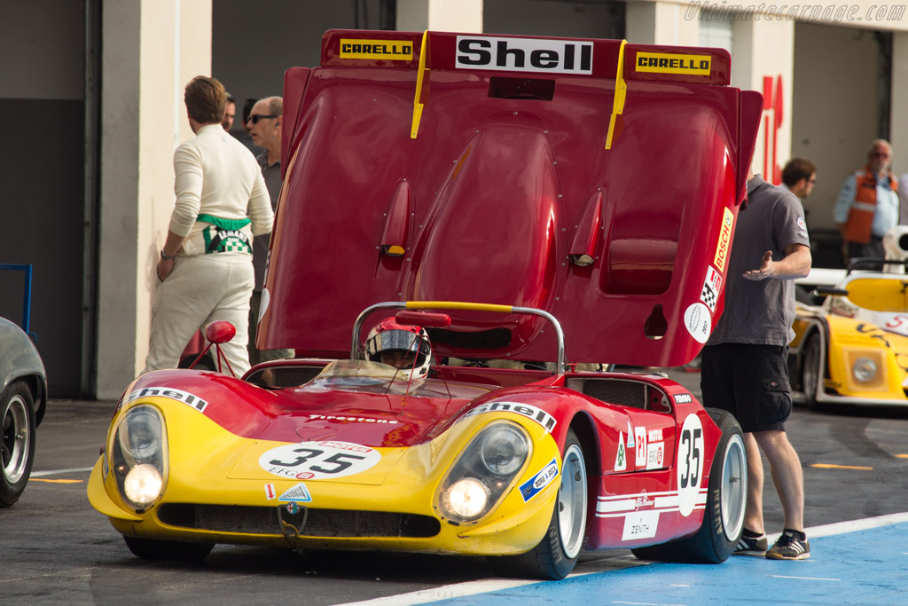 Alfa Rome 33/3 - Chassis: 10580-023 - Driver: Gianluca Rattazzi / Emanuele Pirro  - 2017 Dix Mille Tours