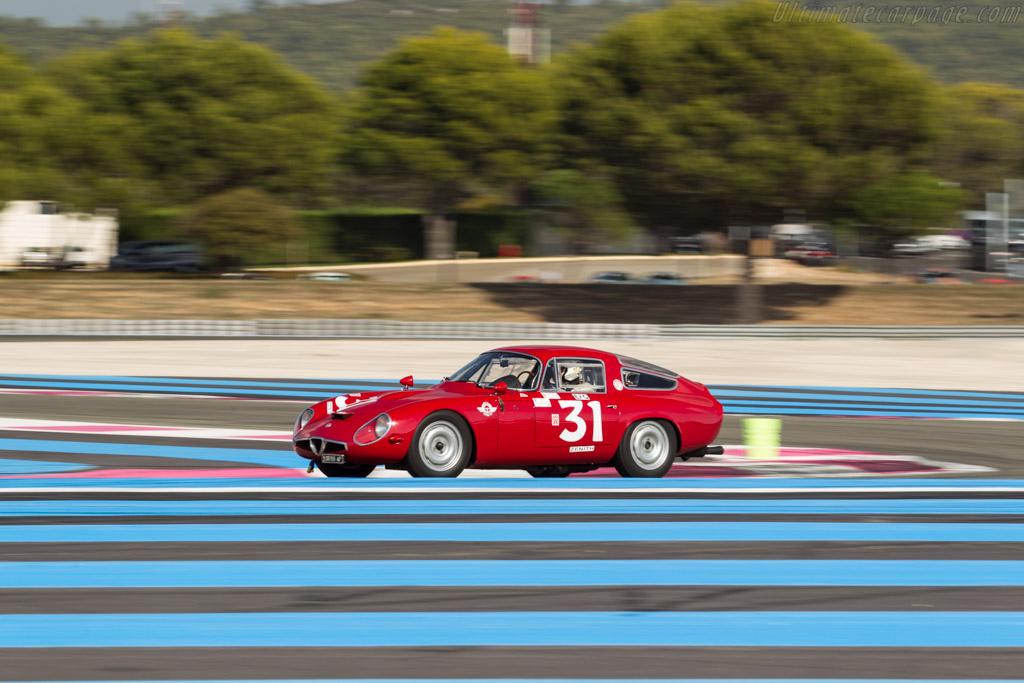 Alfa Romeo TZ1 - Chassis: AR750081 - Driver: Pierre Mellinger  - 2017 Dix Mille Tours