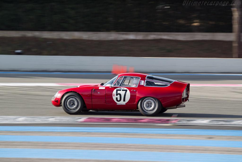 Alfa Romeo TZ1 - Chassis: AR750057 - Driver: Jean-Jacques Gravier  - 2017 Dix Mille Tours