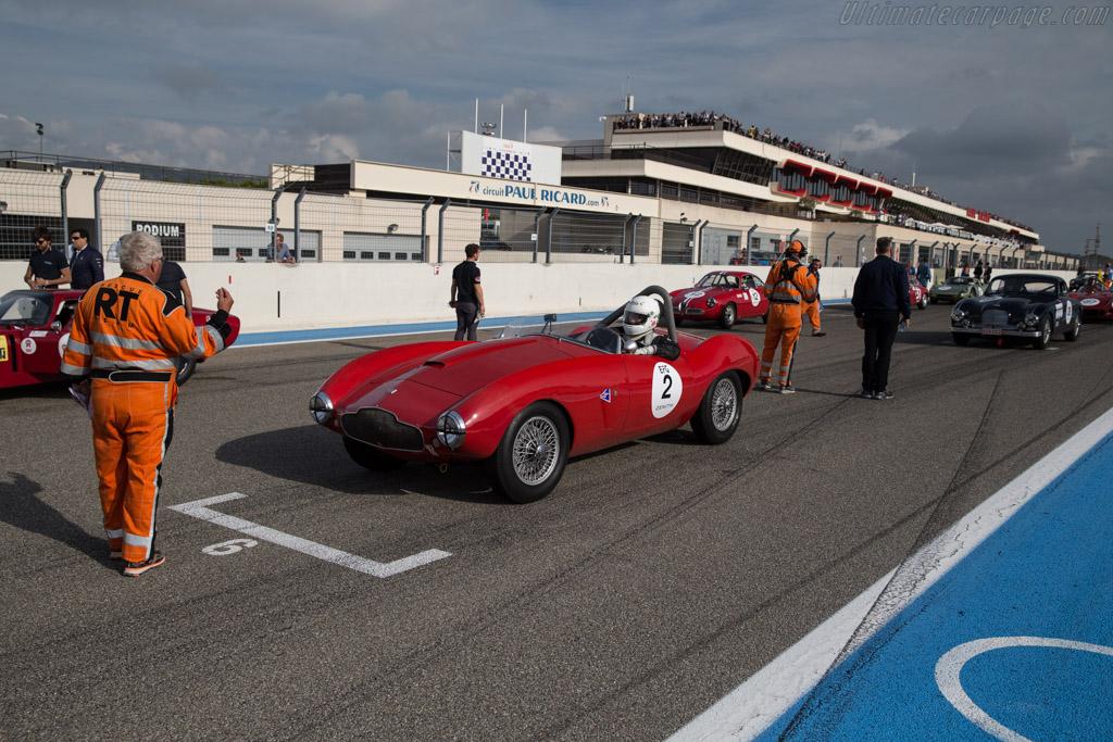 Aston Martin DB2 Bertone Spider - Chassis: LML/507 - Driver: Heinz Stamm  - 2017 Dix Mille Tours