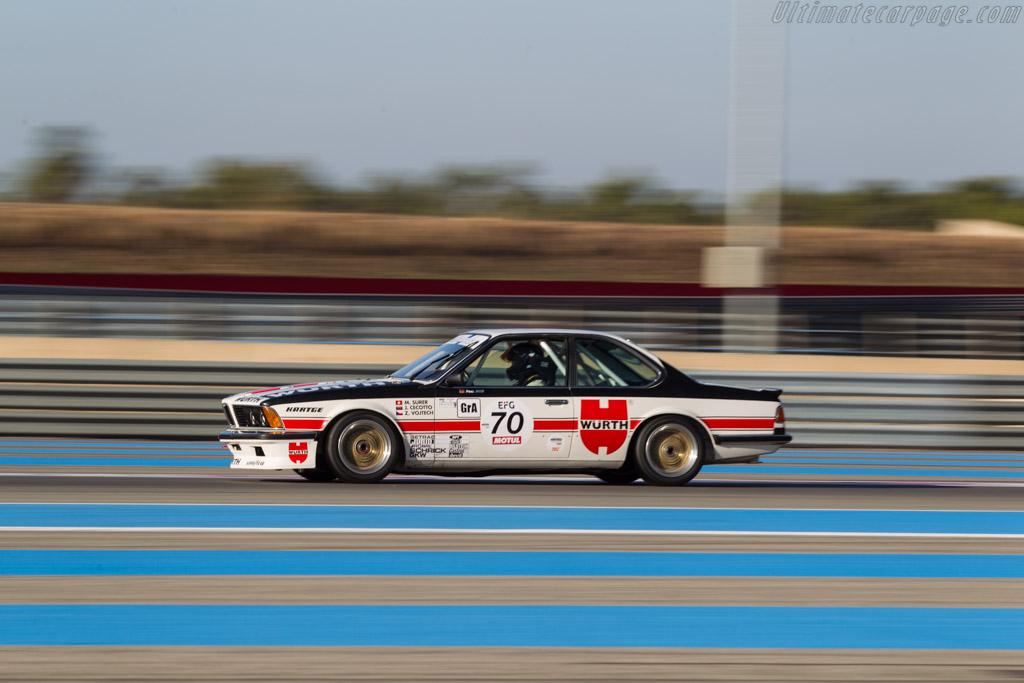 BMW 635 CSI - Chassis: E24 RA2-43 - Driver: Frank Jacob  - 2017 Dix Mille Tours