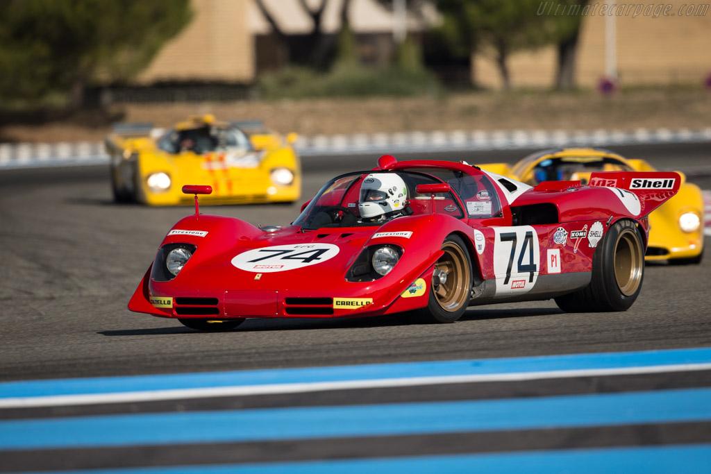 Ferrari 512 S - Chassis: 1004 - Driver: Pierre Mellinger / Tommaso Gelmini  - 2017 Dix Mille Tours