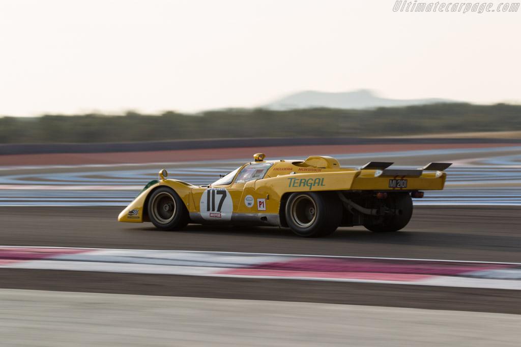 Ferrari 512M  - Driver: Carlos Monteverde / Gary Pearson  - 2017 Dix Mille Tours