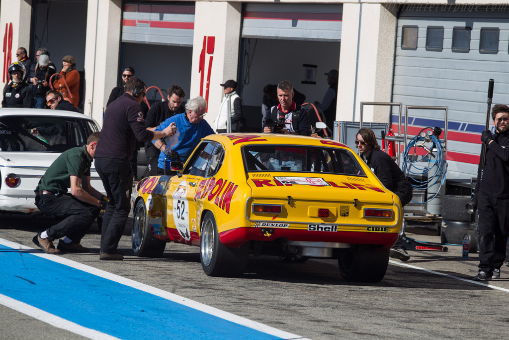 Ford Capri RS 2600 - Chassis: GAECLE42482 - Driver: Yves Scemama - 2017 Dix Mille Tours
