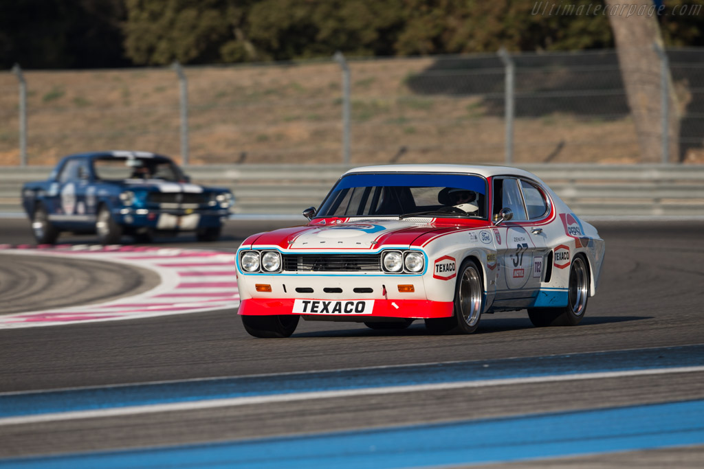 Ford Capri RS 2600 - Chassis: GAECNR34253 - Driver: Yves Vogele / Carlo Vogele  - 2017 Dix Mille Tours
