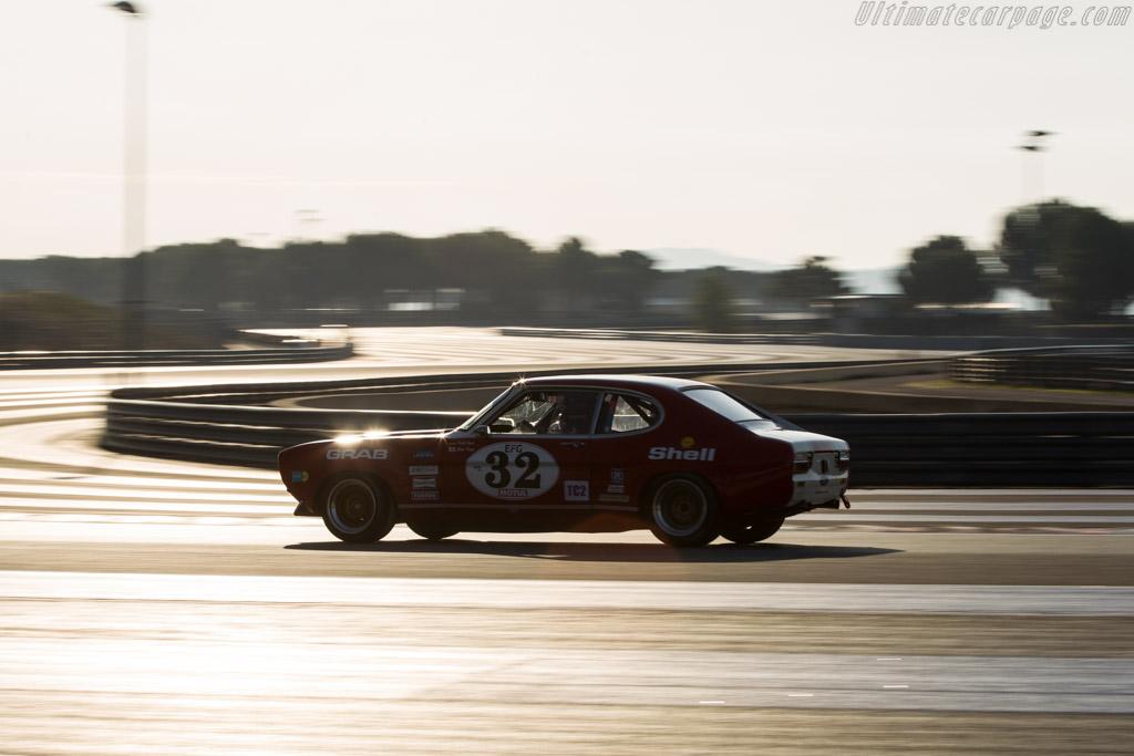 Ford Capri RS 2600  - Driver: Steve Dance  - 2017 Dix Mille Tours