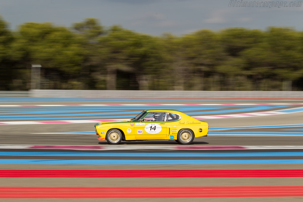 Ford Capri RS 2600 - Chassis: GAECMR57537 - Driver: Carlo Vogele / Yves Vogele  - 2017 Dix Mille Tours