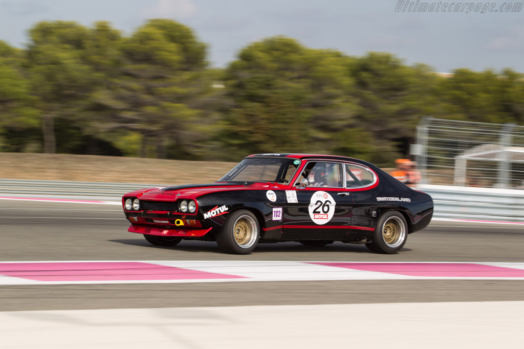 Ford Capri RS 2600 - Chassis: GAECAY91088 - Driver: Kevin Jones  - 2017 Dix Mille Tours