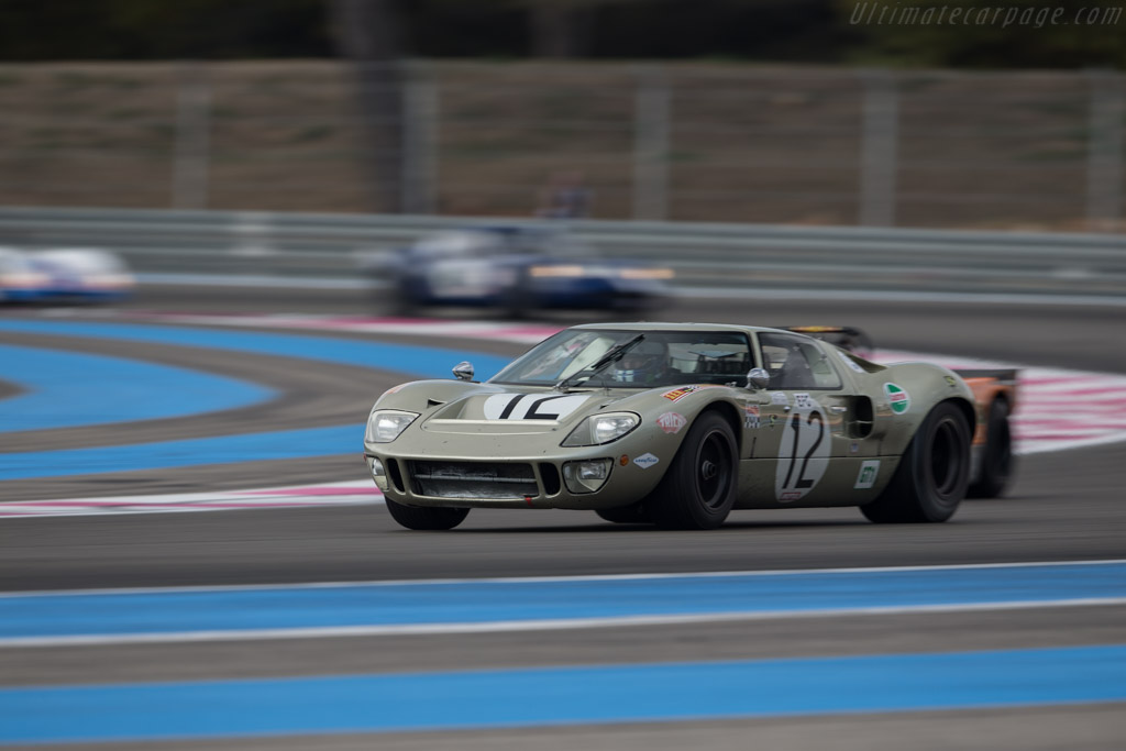 Ford GT40 - Chassis: GT40P/1078 - Driver: Claude Nahum - 2017 Dix Mille Tours