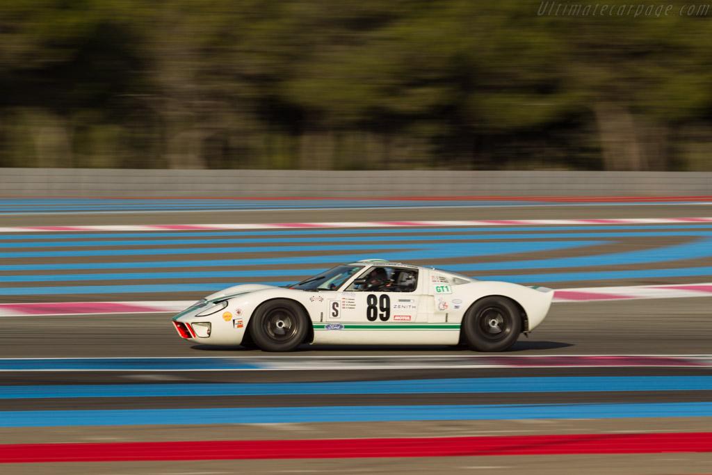 Ford GT40 - Chassis: GT40P/1000 - Driver: Grant Tromans / Richard Meaden  - 2017 Dix Mille Tours