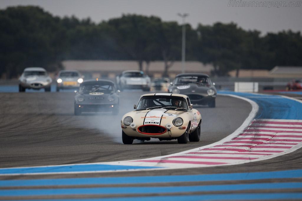 Jaguar E-Type - Chassis: 886043 - Driver: Guy Fabrice Mestrot / José da Rocha  - 2017 Dix Mille Tours
